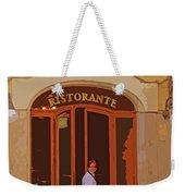 Ristorante Weekender Tote Bag