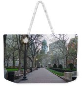 Rittenhouse Square In The Morning Weekender Tote Bag
