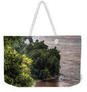 River Bluff View Weekender Tote Bag