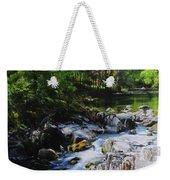 River In Wales Weekender Tote Bag