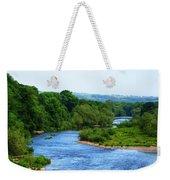 River Wye From Hay-on-wye Bridge Weekender Tote Bag