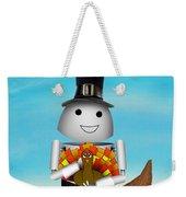 Robo-x9 The Pilgrim Weekender Tote Bag