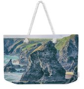 Rock Face Weekender Tote Bag