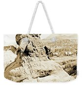 Rock Formation, Garden Of The Gods, 1915, Vintage Photograph Weekender Tote Bag