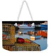 Rockport Ma Lobster Traps Weekender Tote Bag