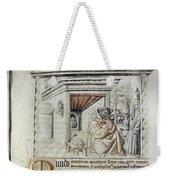 Roger Bacon (1214?-1294) Weekender Tote Bag