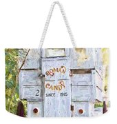 Roman Candy Weekender Tote Bag by Scott Pellegrin