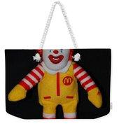 Ronald Mcdonald Weekender Tote Bag