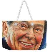 Ronald Reagan Portrait Weekender Tote Bag