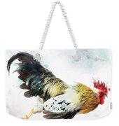 Rooster Running Weekender Tote Bag