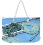 Ropes And Bolt Hook Weekender Tote Bag