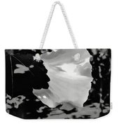 Rose Of Sharon In Black And White Weekender Tote Bag