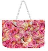 Roses Background Weekender Tote Bag