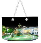Rossio Square Lisbon Weekender Tote Bag