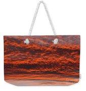 Rosy Sky Weekender Tote Bag by Michal Boubin