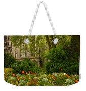 Rouen Abbey Garden Weekender Tote Bag
