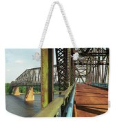 Route 66 - Chain Of Rocks Bridge Weekender Tote Bag
