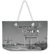 Route 66 - New Mexico Whiting Brothers Gas Weekender Tote Bag