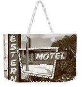 Route 66 - Western Motel Weekender Tote Bag
