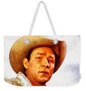Roy Rogers, Vintage Western Legend Weekender Tote Bag
