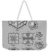 rubik's cube Patent 1983 Weekender Tote Bag