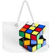 Rubiks Cube Weekender Tote Bag