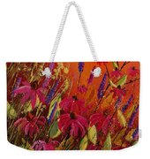 Rudbeckias And Lyatris Weekender Tote Bag