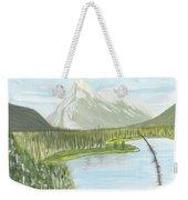Rundle From Banff Weekender Tote Bag