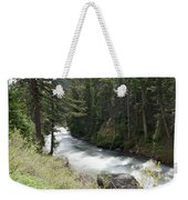 Running Through The Forest Weekender Tote Bag