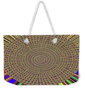 Saguaro Forest Abstract Weekender Tote Bag