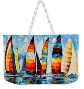 Sail Regatta Weekender Tote Bag