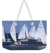 Sailboat Championship Racing Weekender Tote Bag