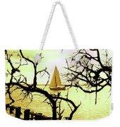 Sailboat Golden Sunset Weekender Tote Bag