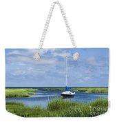 Sailboat Salt Marsh Weekender Tote Bag