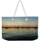 Sailboats At Sunrise  Weekender Tote Bag
