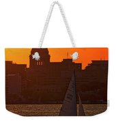 Sailing - Lake Monona - Madison - Wisconsin Weekender Tote Bag