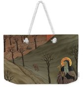 Saint Anthony The Abbot In The Wilderness Weekender Tote Bag