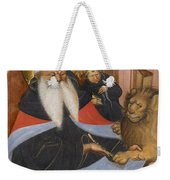 Saint Jerome Extracting A Thorn From A Lion's Paw Weekender Tote Bag