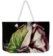 Saint John The Evangelist Weekender Tote Bag