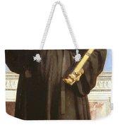 Saint Nicholas Of Tolentino Weekender Tote Bag