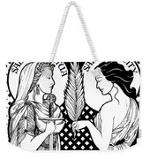 Saints Perpetua And Felicity Weekender Tote Bag