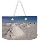 Salt Production Weekender Tote Bag