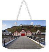 Saltburn On Sea Weekender Tote Bag