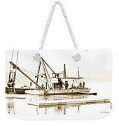 Salvage Barge, Delaware River, Philadelphia, C.1900 Weekender Tote Bag