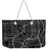 San Francisco California Usa Dark Map Weekender Tote Bag