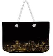 San Francisco Nighttime Skyline Weekender Tote Bag