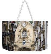 Basilica Of Saint Mary Of The Chorus - San Sebastian - Spain Weekender Tote Bag