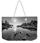 Sand Harbor Star Weekender Tote Bag