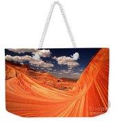 Sandstone Wave Curl Weekender Tote Bag