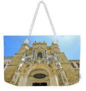 Santa Cruz Monastery Facade Weekender Tote Bag